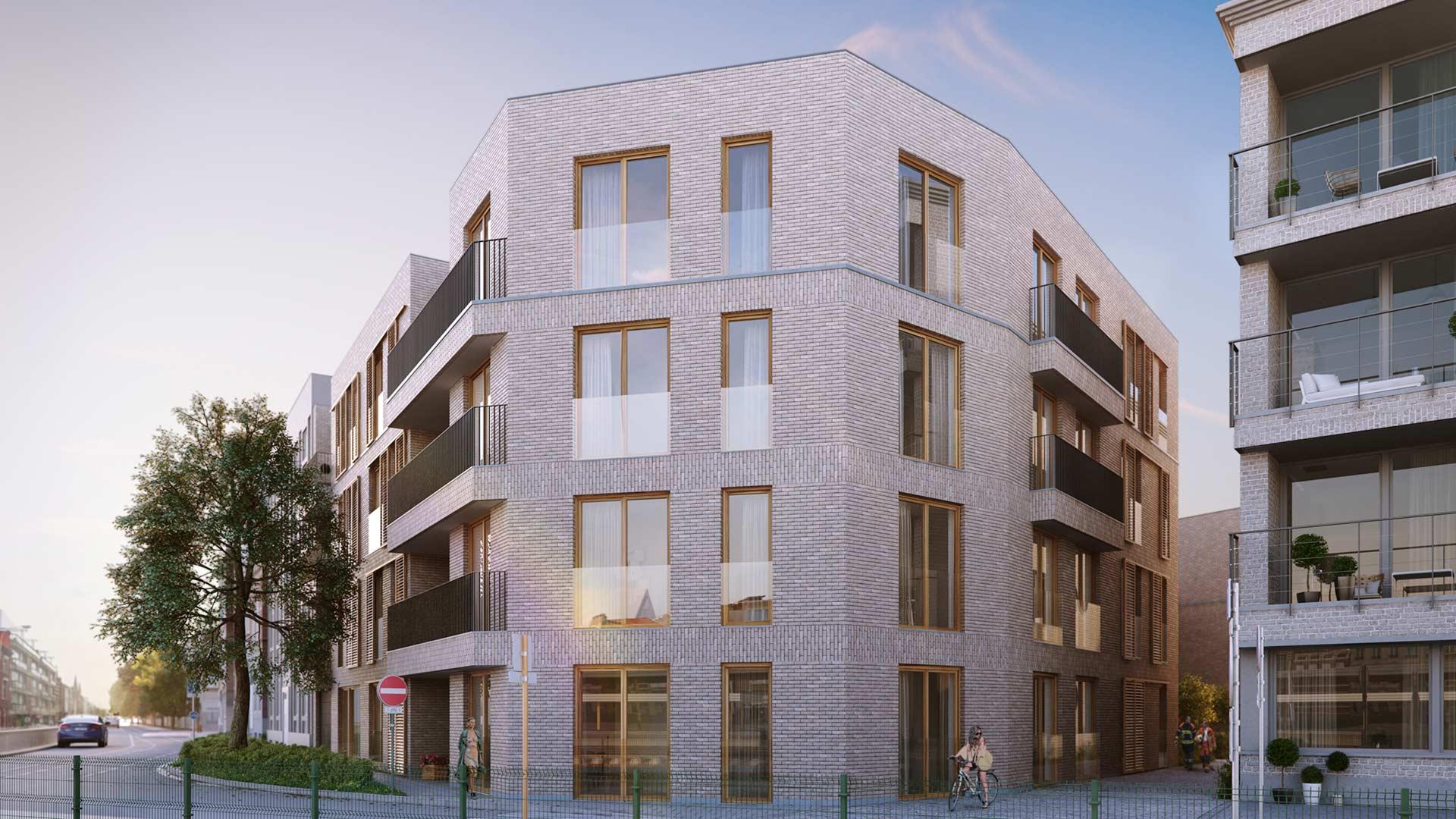Residentie Allier - Nieuwbouw appartementen - Exterieur